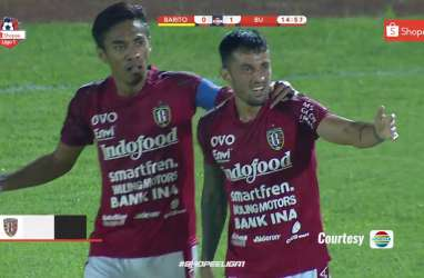 Liga 1: Bali United Tekuk Barito Putera, Bawa Pulang 3 Poin