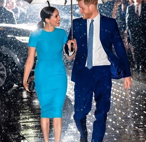 Meghan Markle dan Pangeran Harry menghadiri Endeavour Awards pada  Kamis (5/3/2020). - Instagram @royal.sussex