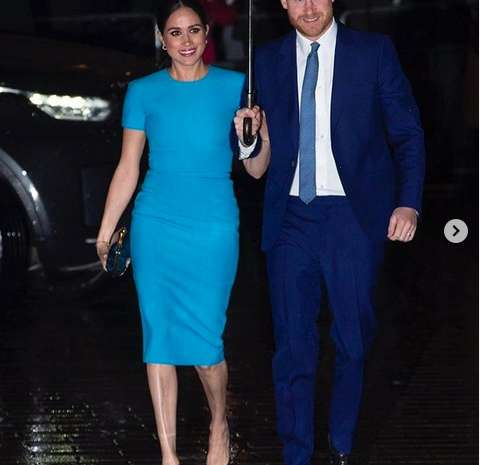 Meghan Markle dan Pangeran Harry menghadiri the Endeavour Fund di Inggris, Kamis (6/3/2020). - Instagram @royal.sussex