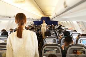Tahun Lalu, Asuransi Awak Kabin Pesawat Tumbuh 25,3…