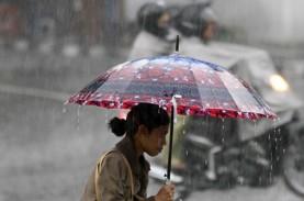 10 Hari Pertama Maret Curah di DIY Hujan Masih Tinggi,…