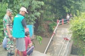 Jembatan di Bantul Ambruk, Akses 2 Dusun di Sanden…