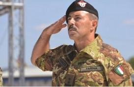 Kepala Staf Angkatan Darat Italia Positif Virus Corona Dikarantina