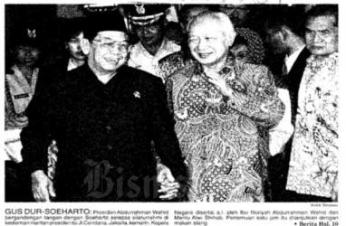 Bisnis Historia : Soeharto Hindari DPR dan Kejagung, Terima Gus Dur
