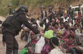 Ribuan Warga Dievakuasi dari Tembagapura