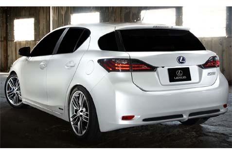 Mobil Lexus Hybrid - zercustoms.com