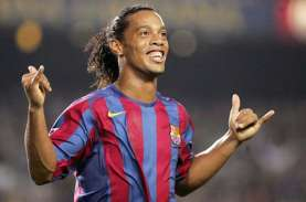 Senyum Ronaldinho di Dalam Penjara Paraguay