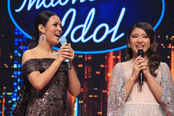 Raisa dan Tiara Idol melakukan duet dengan membawakan lagu berjudul Kali Kedua. - Instagram