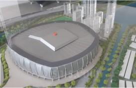 Atap Buka Tutup Diuji,  Stadion JIS akan Setara Markas Arsenal dan Hotspur