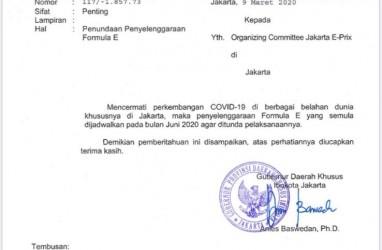 Darurat Corona, Formula E Setuju E-Prix Jakarta Ditunda