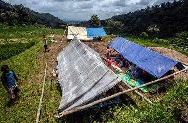 BERITA FOTO : Berbagai Kerusakan Karena Gempa Bumi di Sukabumi