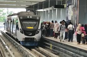 Listrik Padam, Operasional LRT Sumsel Sempat Terhenti