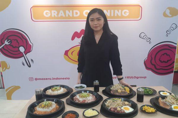Liviana Lesmana, Founder Mazeru Indonesia usai Grand Opening Mazeru di Gandaria, Rabu(11/3/2020). - Gloria FK Lawi