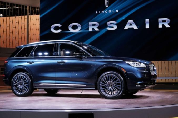 Lincoln Corsair 2020 ditampilkan di New York International Auto Show pada 17 April 2019 di New York City/ABC News-Spencer Platt - Getty Images.