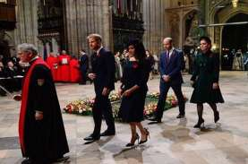 Hubungan Pangeran William dan Pangeran Harry tak Harmonis…