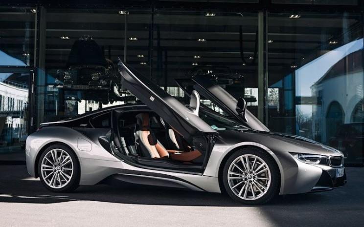 BMW i8 diluncurkan pada 2014 dan telah menjadi dasar bagi pengembangan model mobil listrik BMW saat ini - ANTARA/BMW.