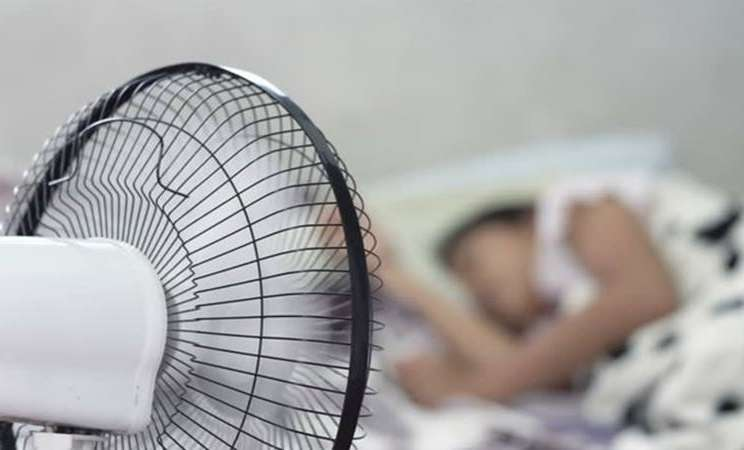 Tidur dengan kipas angin - Istimewa