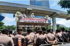 Demo di Kedubes India, Akses Jalan Menuju Rasuna Said…
