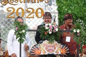 Bali Klaim Aman Corona, Festival Tanah Lot Tetap Digelar