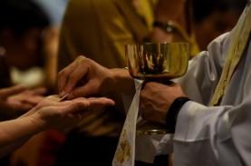 Antisipasi Corona, Katedral Jakarta Lakukan Misa Secara…