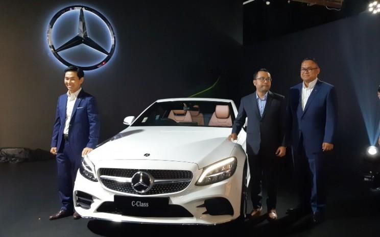 Mercedez-Benz dan Mercedez-AMG meluncurkan lima produk baru dalam pergelaran Star Drive 2020, yang dihelat pada 12-15 Maret 2020 di Mal Senayan City, Jakarta - Bisnis/Dionisio Damara.