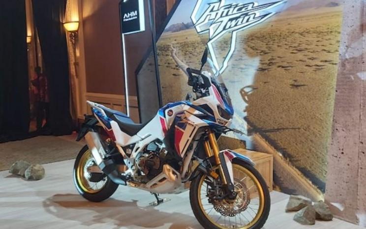 Honda New CRF1100L Africa Twin Adventure Sport - Bisnis.com/Setyo Aji Harjanto.