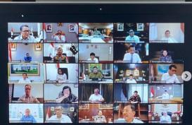 Antisipasi Corona, Jokowi Pimpin Rapat Terbatas via Video Conference