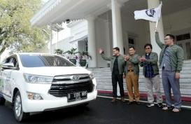 Ridwan Kamil Lepas Tim Jelajah Segitiga Rebana Bisnis Indonesia