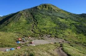 Jalur Pendakian Gunung Merbabu Ditutup
