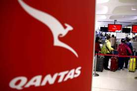Qantas Hentikan Hampir Seluruh Penerbangan ke Luar…
