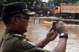 Jakarta Waspada Banjir, Tinggi Air Pos Pesanggarahan…