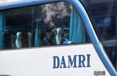 DAMRI Hentikan Sementara Angkutan Antarlintas Batas Negara