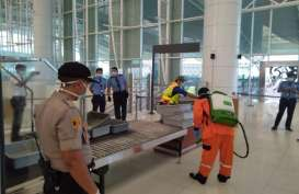 Rutin Lakukan Pencegahan Corona, Bandara Kertajati Tetap Beroperasi Normal