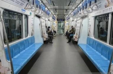 Penumpang MRT Jakarta Anjlok 69 Persen, Efek Kerja dari Rumah?