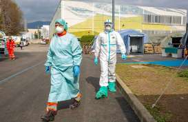 Sehari, Angka Kematian Pasien Virus Corona di Italia  475 Orang