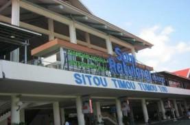 Redam Corona, Bandara Sam Ratulangi Terapkan Social…