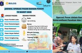 DKI Gelar Operasi Pasar, Per Kg: Gula Rp12.500, Beras Rp9.000, Tepung Terigu Rp8.500