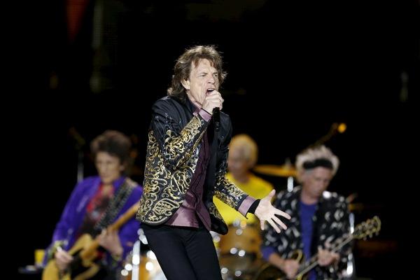 Rolling Stones gelar konser di Amerika Latin - Reuters/John Vizcaino