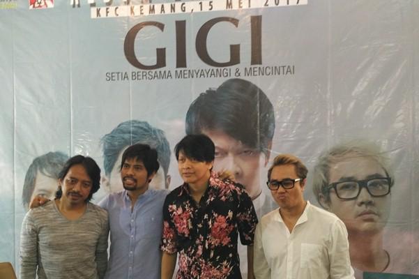 Grup band GIGI - Bisnis.com/Dika Irawan