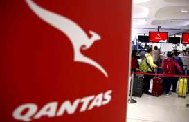 Qantas Hentikan Seluruh Penerbangan Internasional