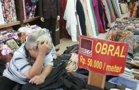 BERITA FOTO : Suasana Sunyi Pasar Baru Pasca Menyebarnya Virus Corona
