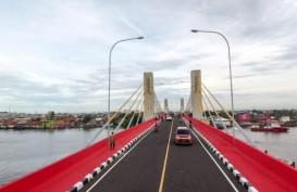 Jembatan Musi II Palembang Rusak