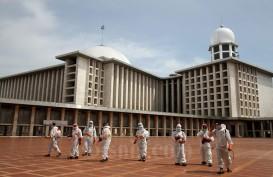 Istiqlal Tiadakan Salat Jumat Dua Pekan, Jemaah Diminta Perbanyak Ibadah di Rumah