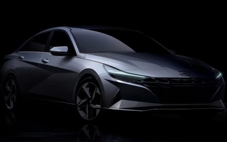 Tampilan Hyundai Elantra 2021 - Dok./Hyundai Motor Company.