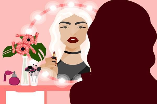 Ilustrasi Makeup - Istimewa
