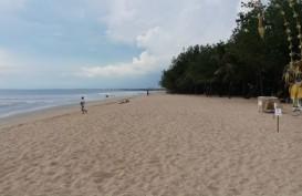 Begini Sepinya Pantai Kuta Pascaimbauan Penutupan Kawasan Wisata