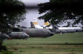 Bawa Alkes dari China, Pesawat Hercules Disemprot Disinfektan