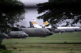 Bawa Alkes dari China, Pesawat Hercules Disemprot…