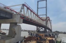 Sisa 16 Persen Penyelesaian Proyek Jembatan Musi VI…