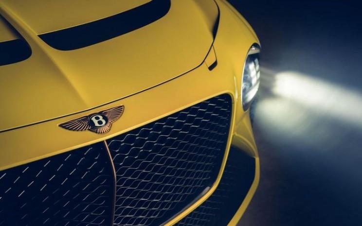 Tampilan depan Bentley Bacalar - Bloomberg/Dok. Bentley